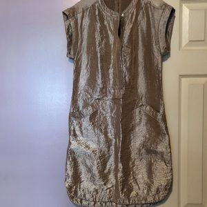 J Crew Metallic Dress